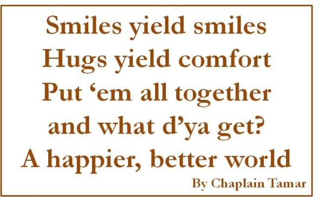 Smiles yield smiles