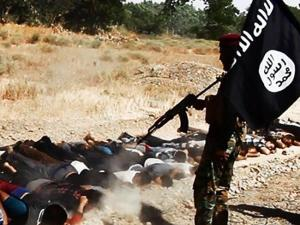 ISIS slaughter in Tikrit